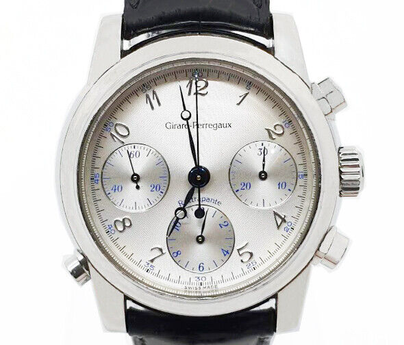 Girard Perregaux Rattrapante Chronograph Automatic Rare 39 mm Men's Watch - watch picture 1