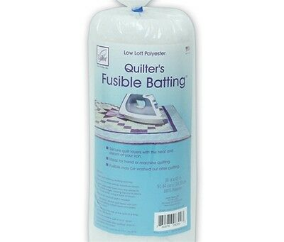 """June Tailor Fusible Quilt Batting (Polyester) - Craft Size 36"""" x 45"""""""