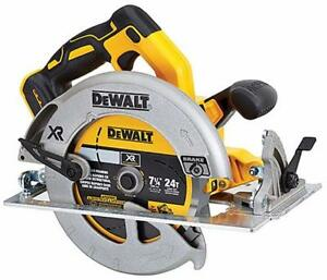 "dewalt DCS570B SCIE CIRCULAIRE 7-1/4"" 20V brushless OUTIL SEUL neuveee"