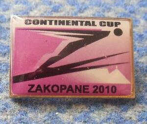 CONTINENTAL CUP SKI FLYING JUMPING POLAND ZAKOPANE 2010 PIN BADGE - <span itemprop='availableAtOrFrom'>Wroclaw, Polska</span> - CONTINENTAL CUP SKI FLYING JUMPING POLAND ZAKOPANE 2010 PIN BADGE - Wroclaw, Polska
