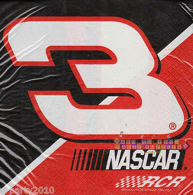 Racing Birthday Party Supplies (NASCAR Dale Earnhardt LUNCH NAPKINS (16) ~ Birthday Party Supplies Dinner)