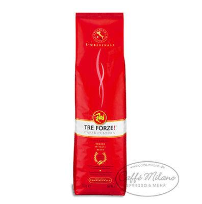 Tre Forze Espresso, 3 x 1000g ganze Bohne - Caffe Milano online kaufen