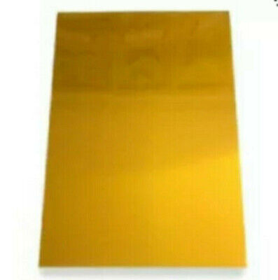 5 Unexposed Sheets Of Jet Hot Foil Stamp Series Photopolymer - 100-hsbx A4 Size