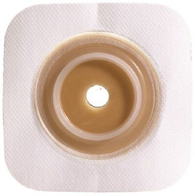 Colostomy Barrier  Cut-to-Fit,Stndrd Wear ,White 2-3/4 Flange 1-7/8to2-1/2 Box10 - Flange White Box