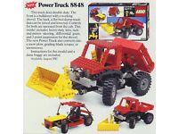 technical lego 8848, power truck