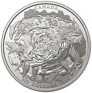 $200 for $200 Coastal Waters (2015) - Royal Canadian Mint