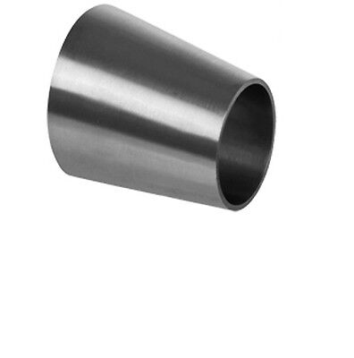 1 X 34 Sanitary Stainless Steel Eccentric Reducer Ss 316l