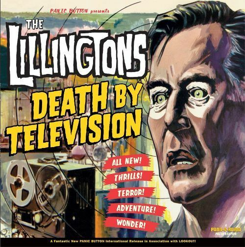 "The Lillingtons - Death By Television Vinyl LP New Sealed Rare Punk 12"" Record"