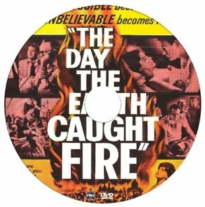 The Day The Earth Caught Fire -  Edward Judd - Disaster, Sci-Fi - 1961 - DVD