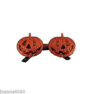 Gisela Graham Purpurina Calabaza Gafas Gafas Sol Novedad Disfraz de Halloween