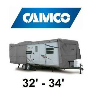 NEW CAMCO TRAILER COVER 45746 226095897 ULTRA GUARD CLASS C/TRAVEL 32' to 34'