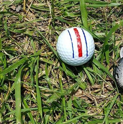 Golf Ball Marker - Triple Alignment