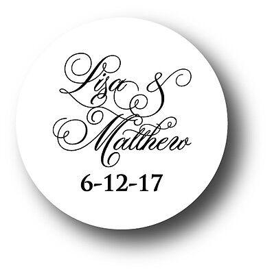 Wedding Invitation Envelope White Sticker Seals Monogram - You pick design/color