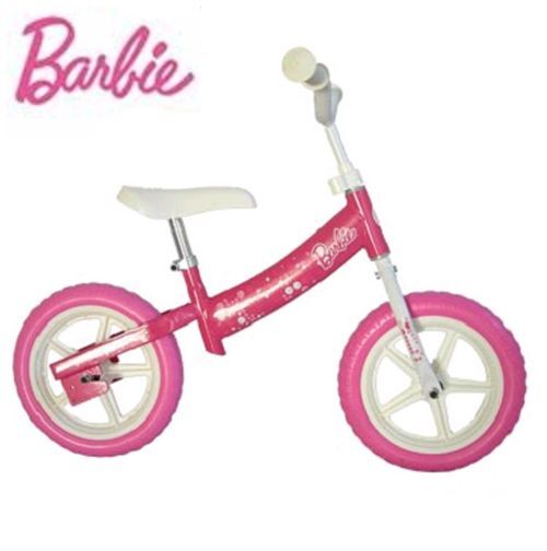 Dandy horse BARBIE pink child bike without pedals girl plaything little noel NEW
