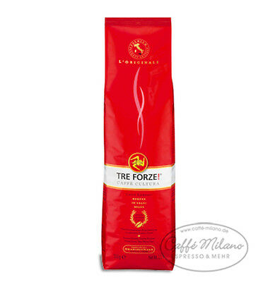 Tre Forze Espresso, 6 x 1000g, ganze Bohne - Caffe Milano online kaufen