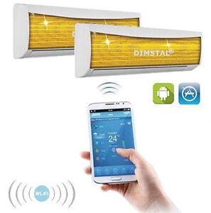 WI-FI-Wi-Fi-Invertitore-12000-12000-btu-Dual-Multi-Diviso-Clima-Climatizzazione