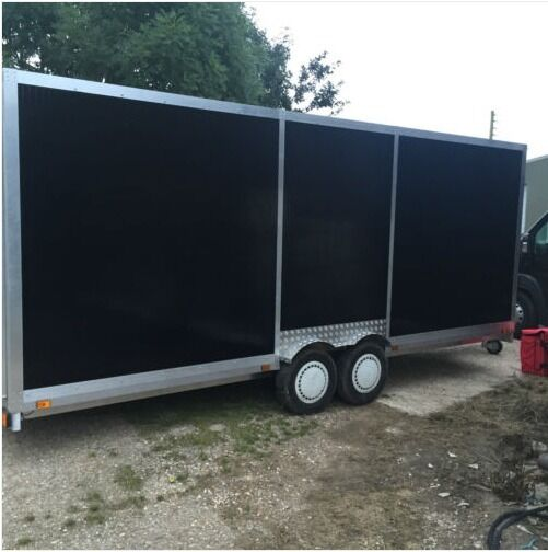 22ft box trailer with uprated 7.5tonne A-frame | in Sittingbourne ...
