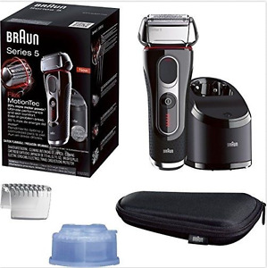 Braun Series 5 5090cc Electric Shaver + Clean & Charge Station