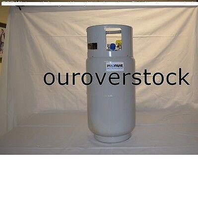 FORKLIFT LPG STEEL LP PROPANE TANK 33.5 lbs -FORK LIFT TRUCK CYLINDER USA MADE