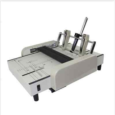 A3 Booklet Making Machine Paper Bookbinding And Folding Booklet Stapling 220v B