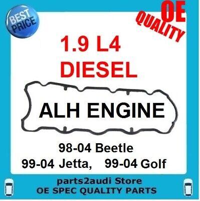 VW BEETLE GOLF JETTA  TDI 1.9 DIESEL ENGINE VALVE COVER GASKET FITS ALH ENGINE 2002 Vw Jetta Diesel