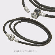 Authentic Pandora Leather Bracelet