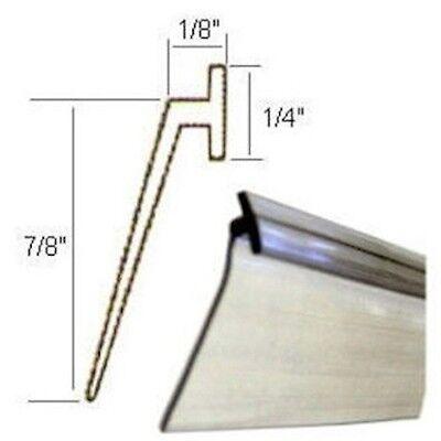 Framed shower door sweep replacement dust sheet roll