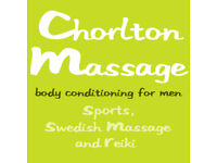 Chorlton Massage, Full Body Sport / Swedish Massage & Reiki, Male Masseur Manchester M21