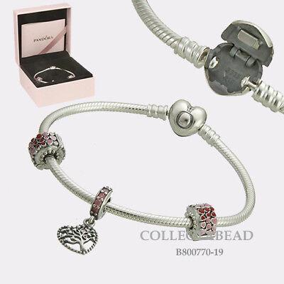 Authentic Pandora Silver Tree of Love Gift Set B800770-19 Valentine's Day 2018 - Valentine's Day Tree