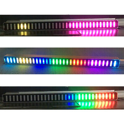 32-bit Sound Control Car Level Indicator Multicolor Led Music Spectrum Home Mic
