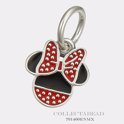 Authentic Pandora Silver Dangle Enamel Disney Minnie Bead 791460ENMX (Enamel Dangle Bead)