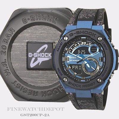 Authentic Casio G-Shock Men's G-Steel Layer Guard Digital Watch GST200CP-2A