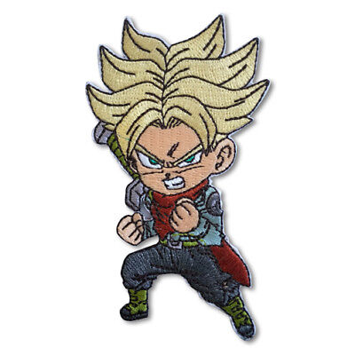Dragon Ball Super Z SD Super Saiyan Future Trunks Iron Sew On Patch Official