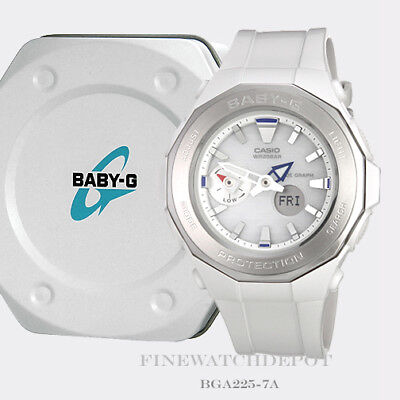 Authentic Casio Baby-G Women's Beach Glamping Tide Digital Watch BGA225-7A