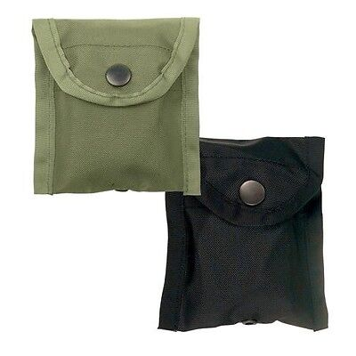 Rothco 408 Nylon Compass Pouch With Belt Clip   Black