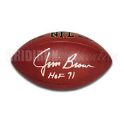 Cleveland Browns Autographed Football