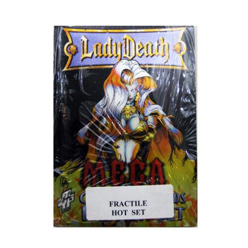 1997 Krome Productions Lady Death Mega Preview Sealed Fractile Hot Set