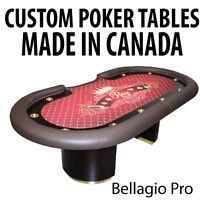 HAND MADE | CUSTOM BUILT | POKER TABLES | CASINO TABLES