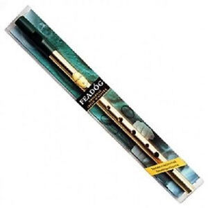 NEW FEADOG IRISH TIN WHISTLE w INSTRUCTION BOOKLET REAL INSTRUMENT FAST DELIVERY