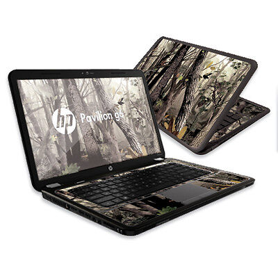 """Skin Decal Wrap for HP Pavilion G6 sticker 15.6"""" screen Tree Camo"""