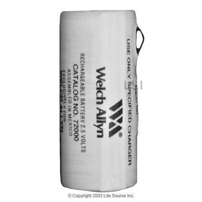 72000 Welch Allyn Brand Oem 2.5v Rechargeable Nicd Battery Red 900mah