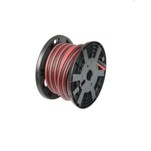 14 FT 4GA AWG 400A AMP DUPLEX WELDING LEAD & CAR BATTERY CABLE BOOSTER WIRE