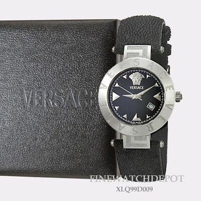 Authentic Women's Versace Black Quartz Watch XLQ99D009