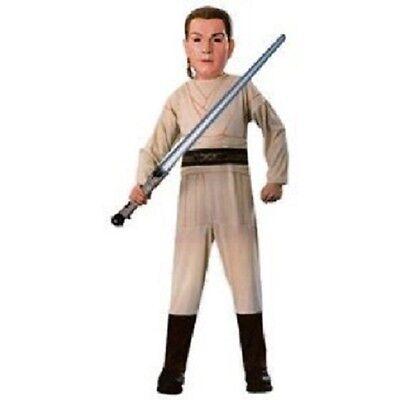 Star Wars Episode 1 Child Obi Wan Kenobi Halloween Constume - Size Small 3-4