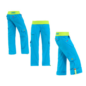 Zumba Highlighter Cargo Pants size Large - Aqua