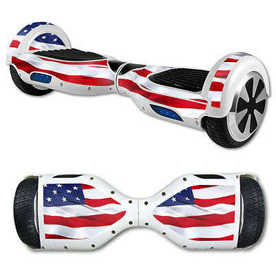 Skin Decal Wrap for Hover Board Balance Balancing Scooter American Flag