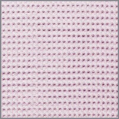 toff softrosa hellrosa Waffel Pique ab 0,5m  (Rosa Waffel)