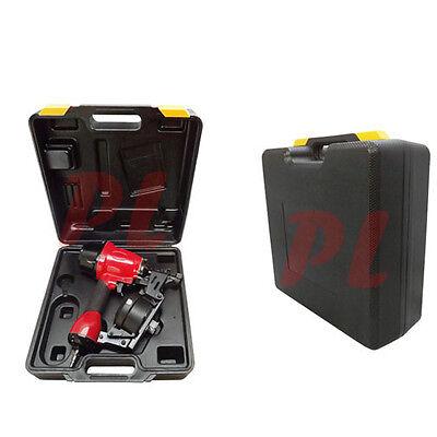 Coil Nail Gun 78-1-34 Nailer Nailgun Roofing Air Nail Gun W Storage Case