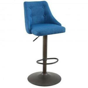 Blue Gas Lift Stool Sale-WO 7629 (BD-2540)
