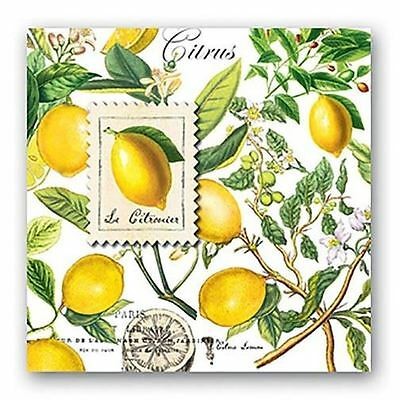 Michel Design Works Paper Luncheon Napkins - Lemon Basil